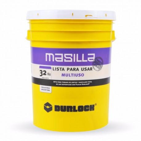 Masilla Durlock® 32 KG Lista Para Usar Multiuso