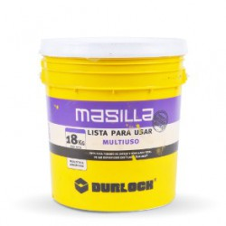 Masilla Durlock® 18 KG Lista Para Usar Multiuso